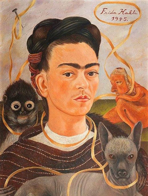 Фрида Кало вМузее Фаберже: главные факты икартины. Изображение № 3.