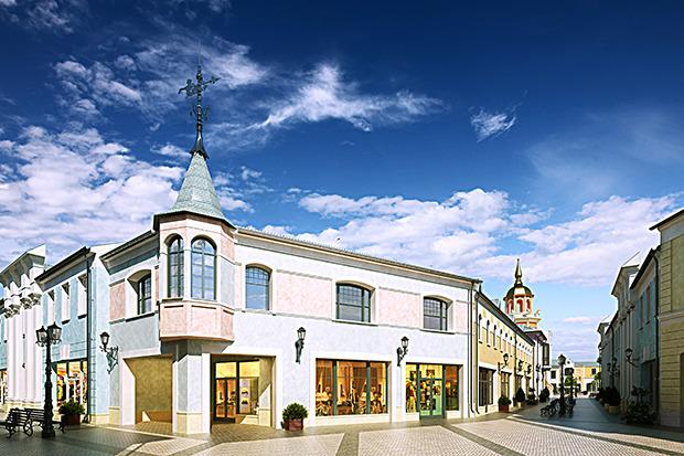 Outlet Village Белая Дача в макете. Изображение № 21.