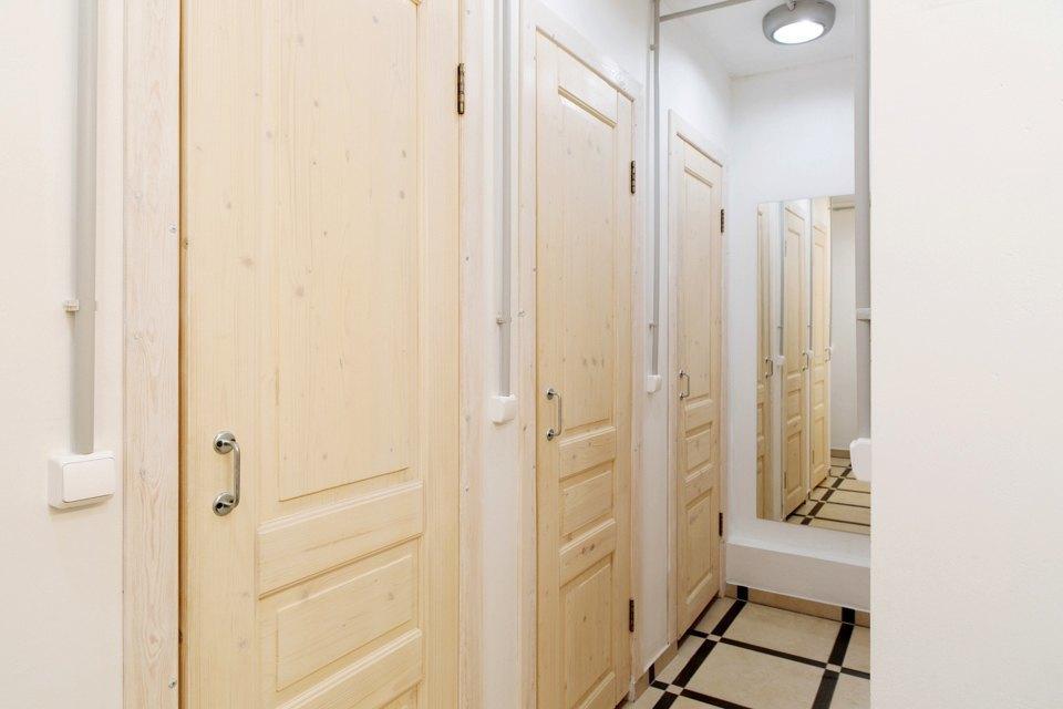 Хостел на«Белорусской» сномерами-каютами идвухэтажной двуспальной кроватью. Изображение № 18.