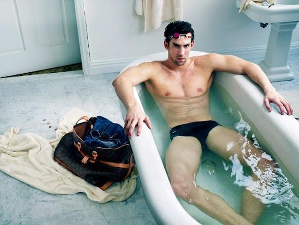 Майкл Фелпс снялся в рекламе Louis Vuitton. Изображение № 11.