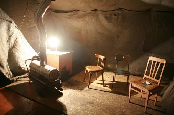 Внутри тёплой палатки. Изображение № 20.