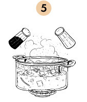 Рецепты шефов: Суп-пюре из тыквы с бальзамическим кремом. Изображение № 9.