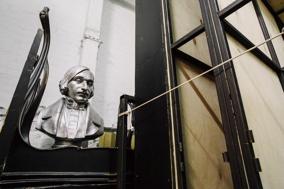 «Студия театрального искусства» вздании бывшей фабрики. Изображение № 33.