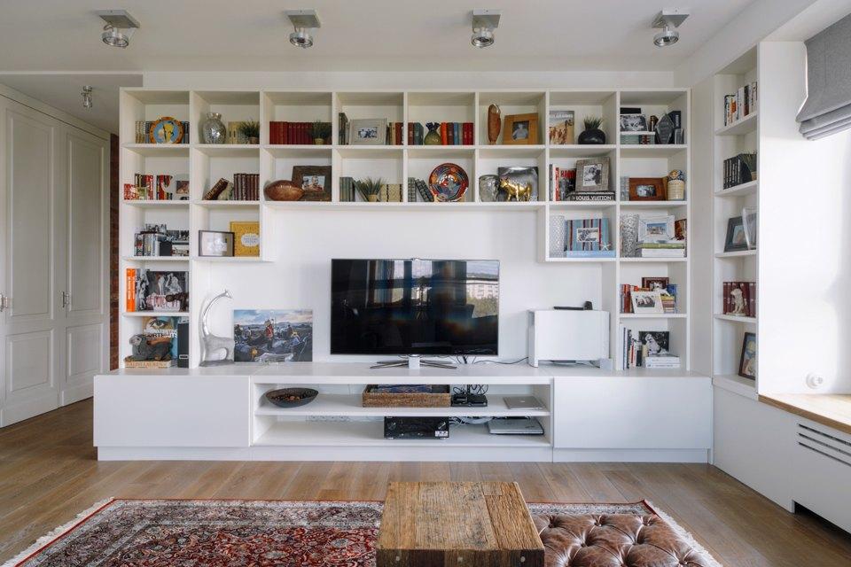 Четырёкомнатная квартира в американском стиле для семьи сдвумя детьми. Изображение № 4.