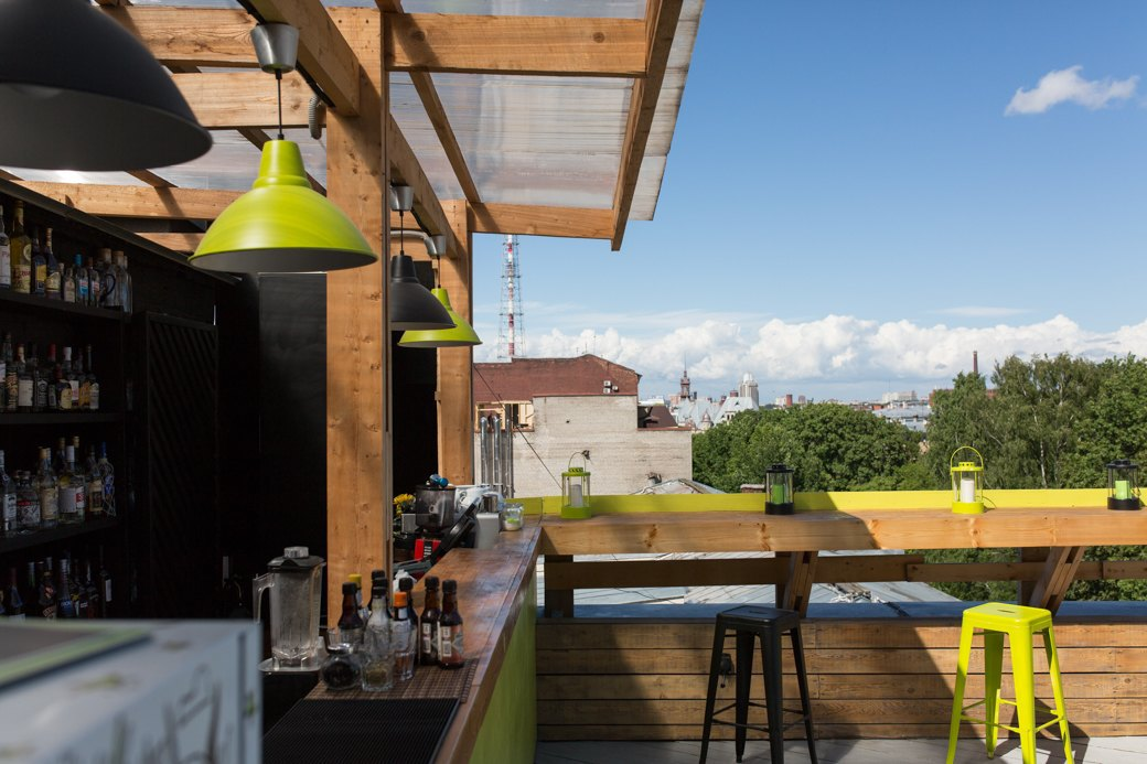 Botanique Bar на крыше «Ленполиграфмаша». Изображение № 4.