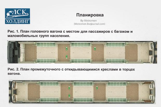 Дизайнеры предложили Метрополитену проект новых вагонов. Изображение № 8.