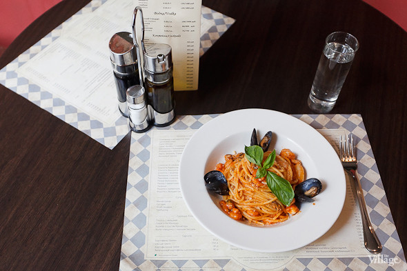 Спагетти с морепродуктами — 350 рублей. Изображение № 25.