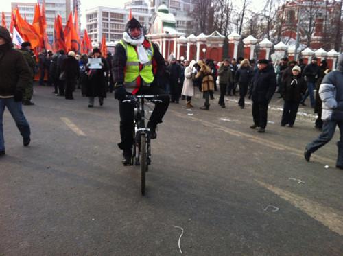 Онлайн-трансляция: Шествие и митинг «За честные выборы». Изображение № 79.