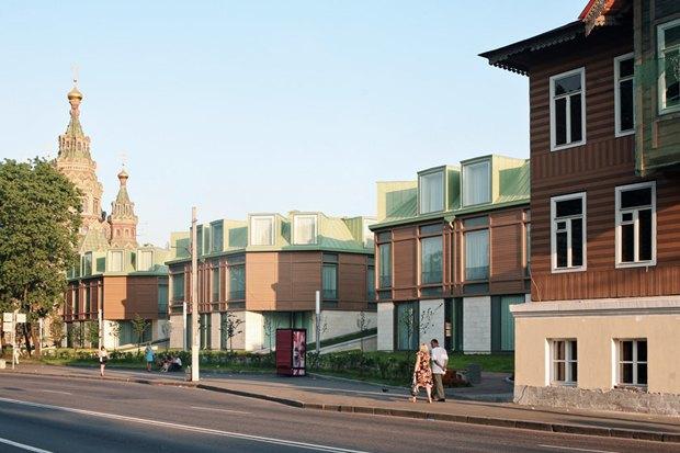 Строиться по одному: 12удачных примеров современной петербургской архитектуры. Изображение № 39.