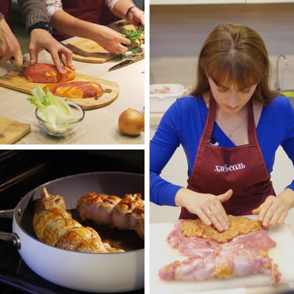 Время есть: Репортаж с мастер-класса Айзека Корреа на редакционной кухне журнала «ХлебСоль». Изображение № 5.