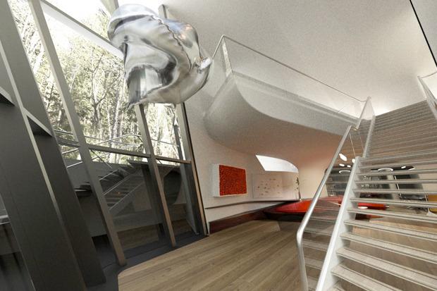 В Барвихе построили дом по проекту Захи Хадид. Изображение № 7.