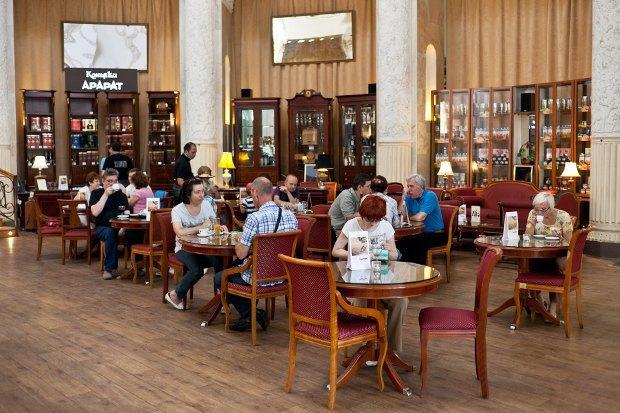 Еда на ВВЦ: 15 кафе, ресторанов и киосков. Изображение № 31.