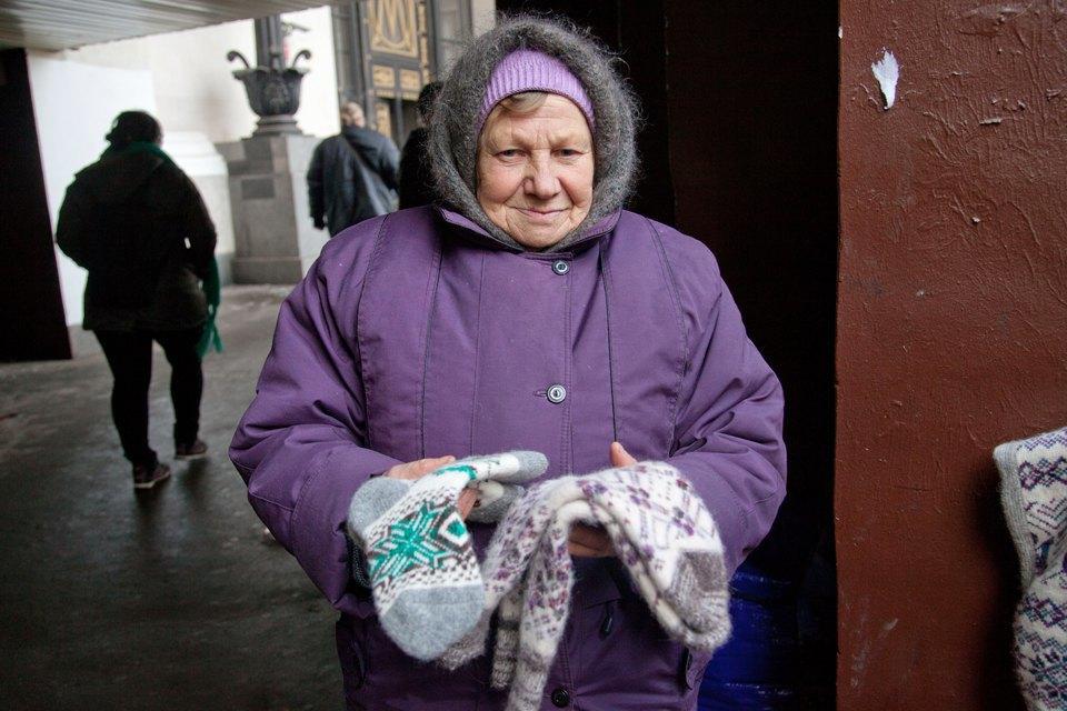 Кто продаёт шерстяные носки наулицах Москвы. Изображение № 7.