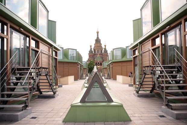 Строиться по одному: 12удачных примеров современной петербургской архитектуры. Изображение № 37.