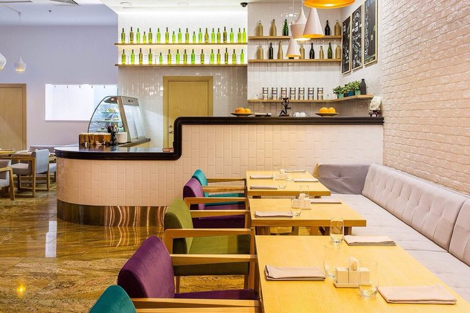 На Малой Охте открылся ресторан Bon Cafe . Изображение № 1.