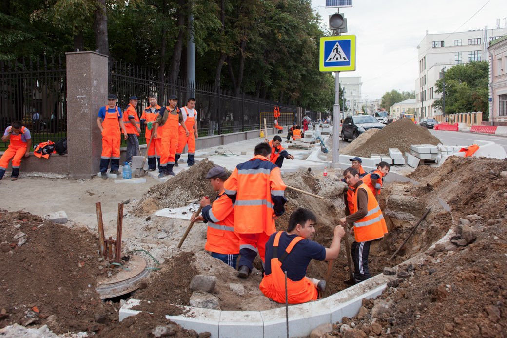 Её раскопали: Пешеходные улицы Москвы за месяц до открытия. Изображение № 22.