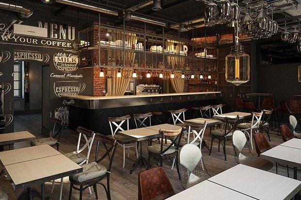 Третье кафе «Крылышко или ножка» Дмитрия Зотова, винный бар «13°» иуличная еда со всего мира в Ten. Изображение № 3.