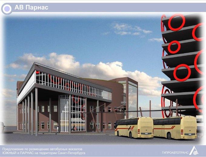 «Пассажиравтотранс» представил проекты автовокзалов у«Парнаса» и«Купчино» . Изображение № 3.