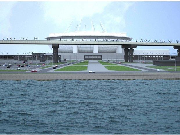 Опубликована часть проекта набережной около «Зенит-арены». Изображение № 4.
