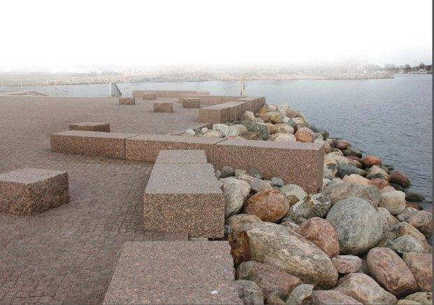 Опубликована визуализация набережной южной части Крестовского острова без ресторанов. Изображение № 10.