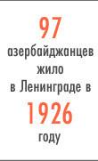 Лига наций: Азербайджанцы в Петербурге. Изображение № 2.