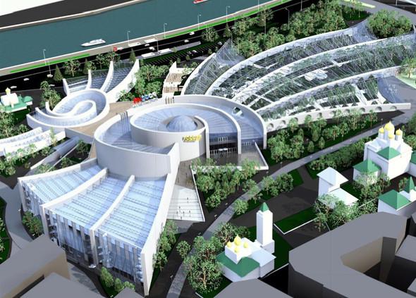 Москомархитектура выбрала 118 проектов парка в Зарядье. Изображение № 28.