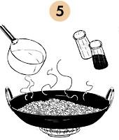 Рецепты шефов: Рис с бобами и пряностями «Мавры и Христиане». Изображение № 9.
