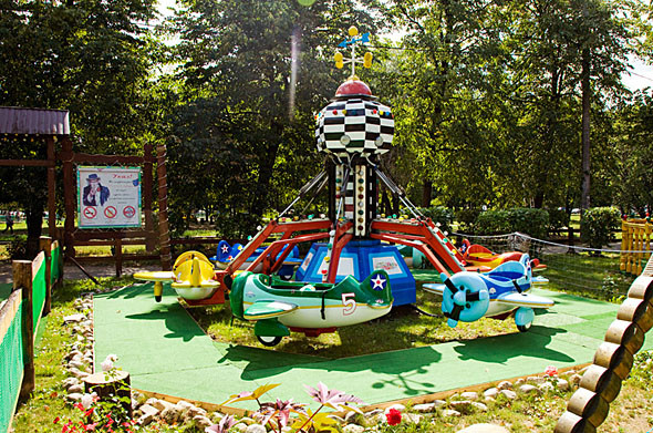 Карусель-карусель: 6 московских парков аттракционов. Изображение № 74.