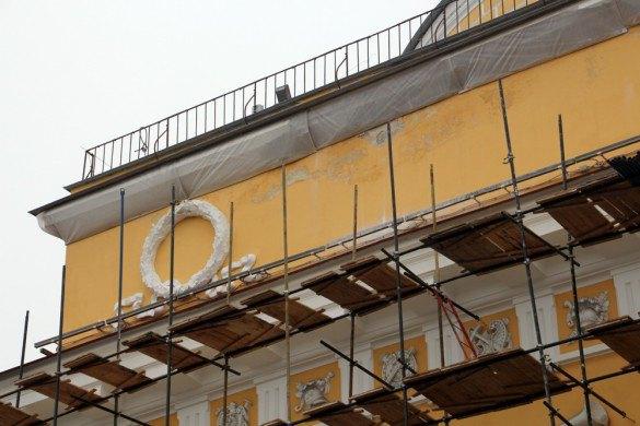 Фасады Адмиралтейства отреставрируют второй раз заполгода. Изображение № 2.