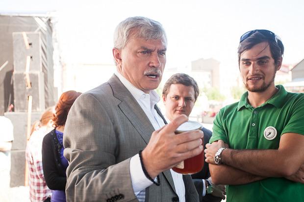Губернатор Полтавченко посетил фермерский рынок «Лавки». Изображение № 7.