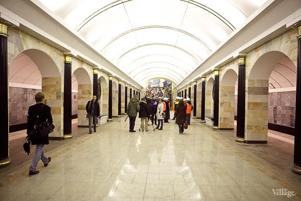 Фоторепортаж: Станция метро «Адмиралтейская» изнутри. Изображение № 10.