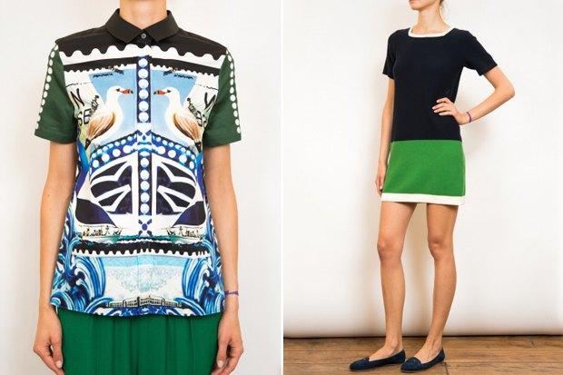 Рубашка Mary Katrantzou за 9750 рублей со скидкой 50 % и платье Birds of Paradise by Trovata за 6250 рублей с такой же скидкой. Изображение № 6.