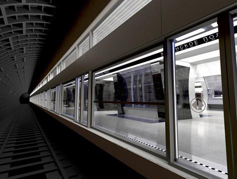 Изображение 2. Третий контур московского метро сделают непохожим на другие станции.. Изображение № 6.