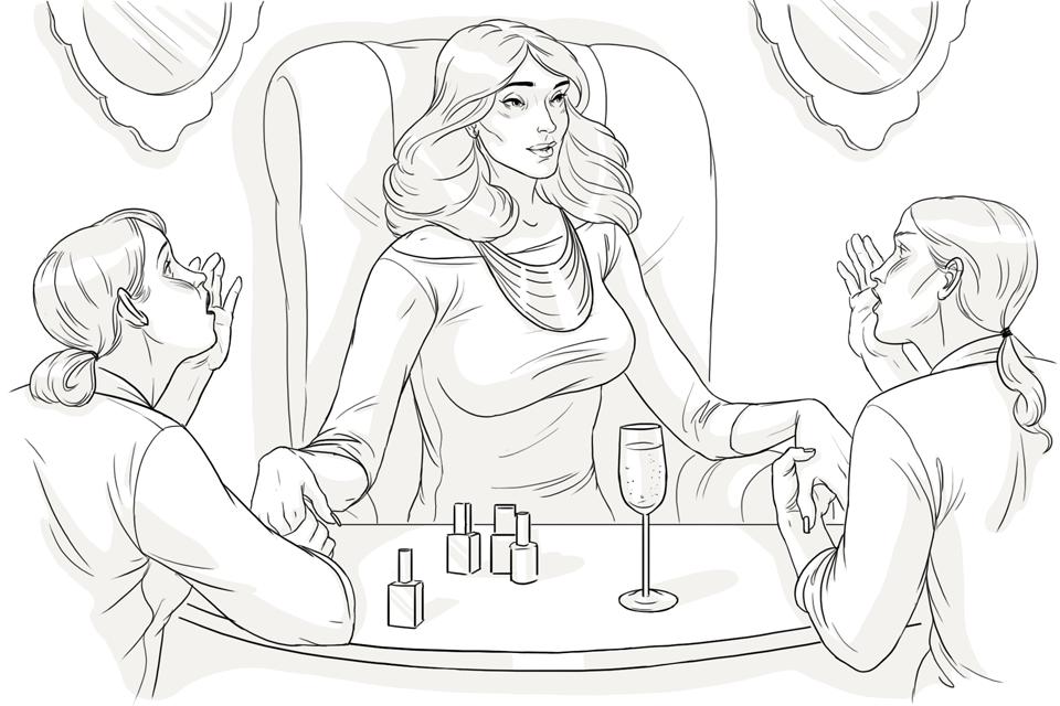 Жена богача. Изображение № 3.