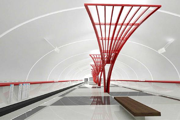Метрополитен показал дизайн трех новых станций. Изображение № 18.