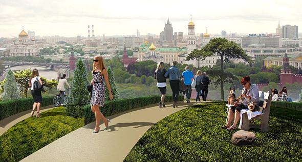 Москомархитектура выбрала 118 проектов парка в Зарядье. Изображение № 35.