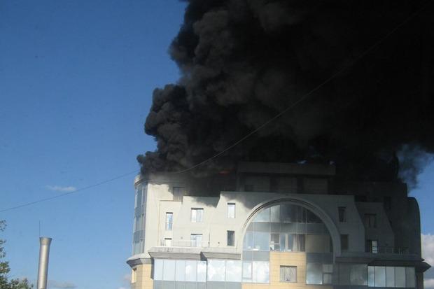 Университет технологии и дизайна на Большой Морской и офис «Газпрома» потушили. Изображение № 4.