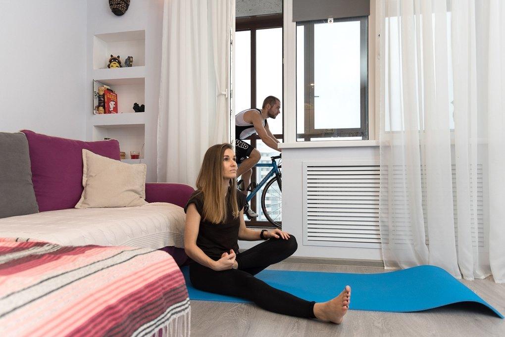 Как живут в разных городах: однокомнатная квартира в стиле лофт для молодого холостяка из Киева в 2019 году