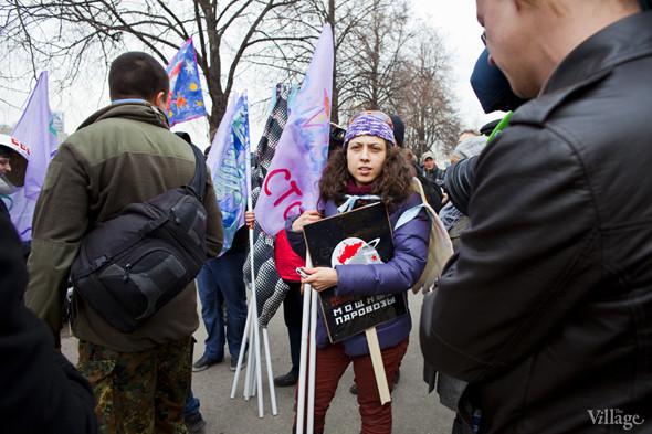 В Москве прошло арт-шествие в честь Дня космонавтики. Изображение № 2.