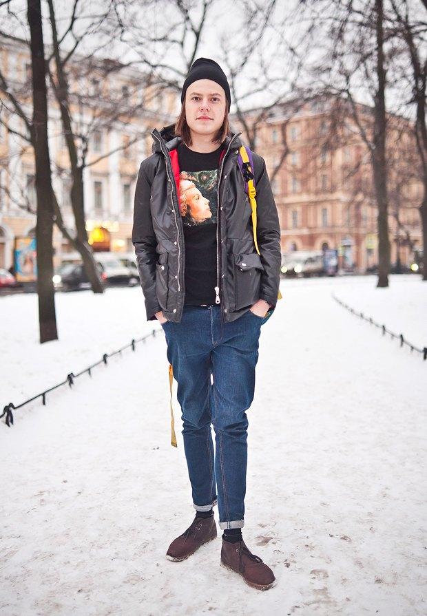 Внешний вид: Андрей Кравцов, основатель марки SH'U. Изображение № 1.