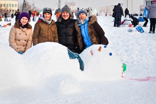 Люди в городе: «Арт-битва снеговиков». Изображение № 34.
