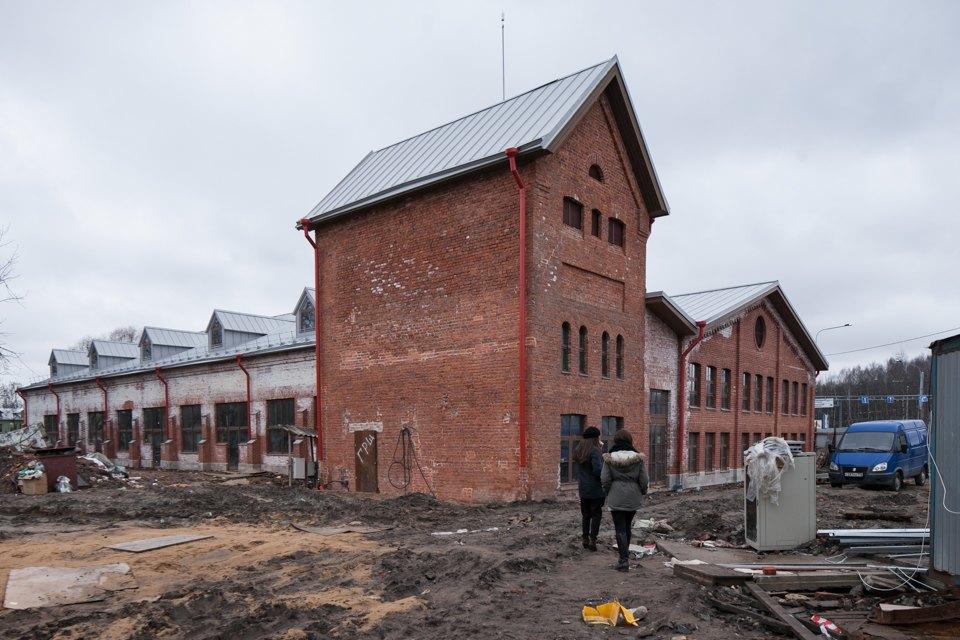 Как заброшенную молочную ферму вПетербурге превращают вобщественный центр . Изображение № 10.