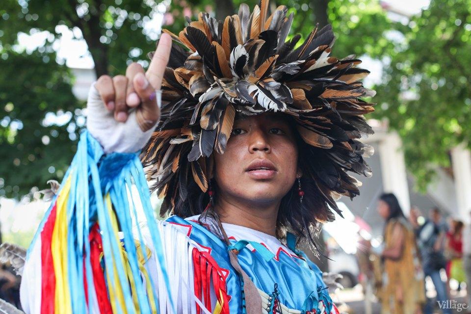 Гости столицы: Как вМоскве оказались индейские музыканты. Изображение № 9.