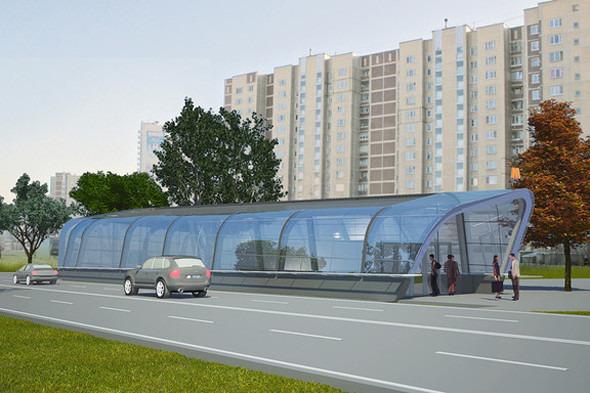 Мэрия показала новую станцию метро «Новокосино». Изображение № 4.