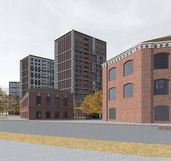 На набережной Яузы построят многофункциональный жилой комплекс. Изображение № 4.