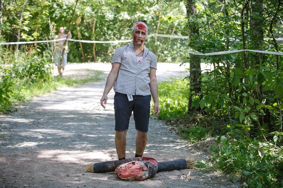 Забег зомби в «Сокольниках». Изображение № 10.