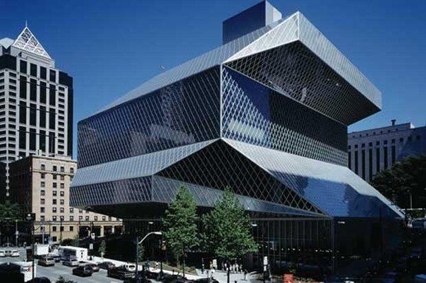 Центральная библиотека Сиэтла, 2004. Изображение № 7.