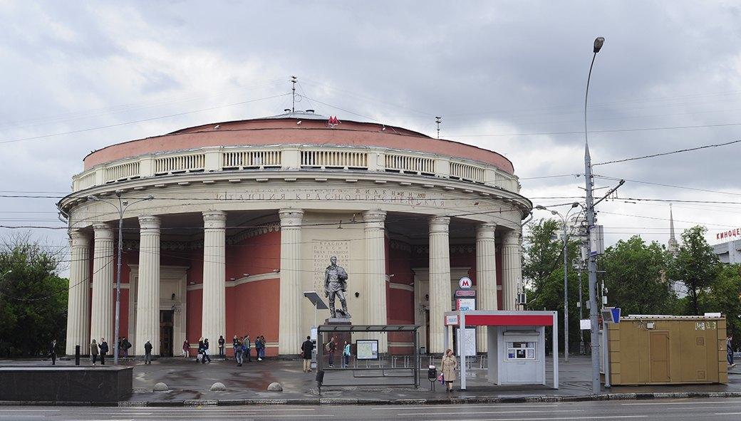 Станция метро «Краснопресненская». Изображение № 30.