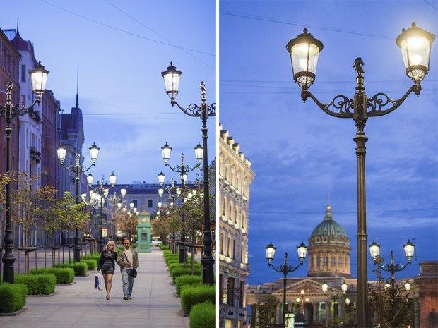 На Малой Конюшенной установили энергосберегающие фонари. Изображение № 3.
