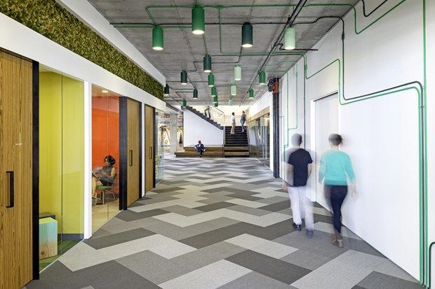 Новые подходы корганизации офисного пространства. Изображение № 5.
